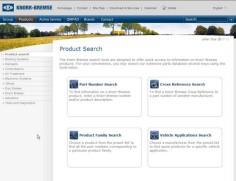 Knorr-Bremse - Product Catalogue & e-Portal